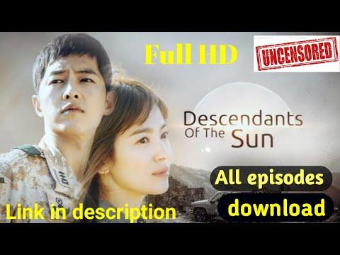 [FHD]Descendants of the sun [Hindi] all episodes link in description