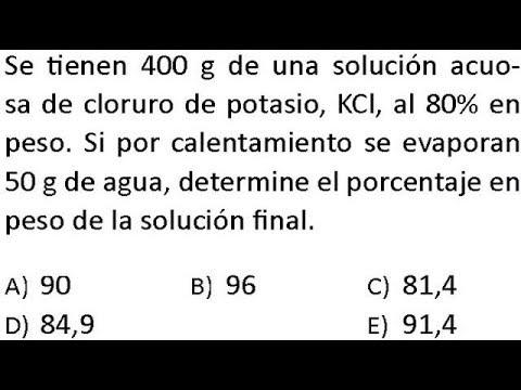 Unidades De Concentración Ejercicios Resueltos Solubilidad Soluciones Químicas Youtube
