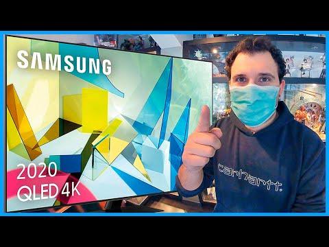 ✅ Samsung QLED 2020 HDMI 2.1 4K 55Q80T Smart TV ( Para JUGAR Playstation 5 y Xbox ) PARTE 01