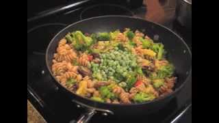 Power Pasta  | Vegan Pasta With Beans,lentils, Broccoli, And Veggies