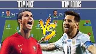 TEAM NIKE VS TEAM ADIDAS - FIFA 19 EXPERIMENT - YOUTUBE COACH FORFEIT