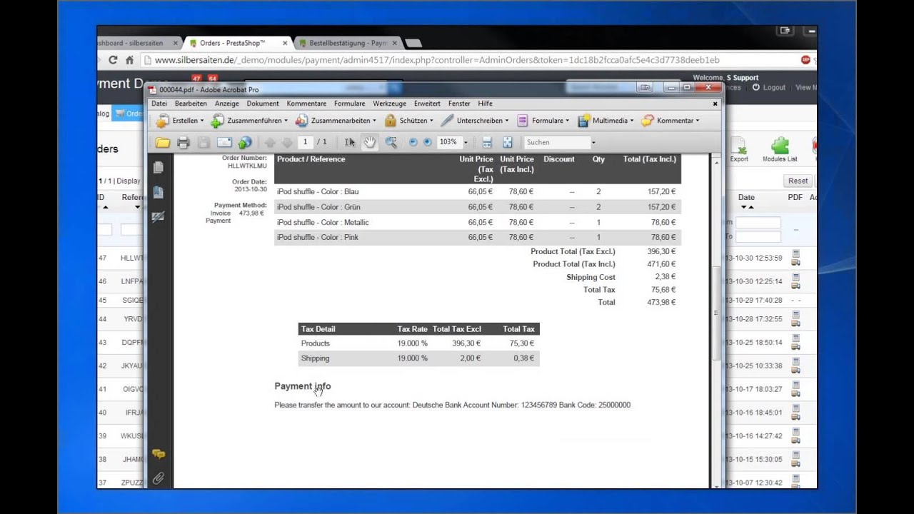 Invoice Statement Template Free Word How To Setup Invoice Payment For Prestashop X  Youtube Invoice Ato Pdf with Generate Lic Receipt Online Excel How To Setup Invoice Payment For Prestashop X Harbor Freight Return Policy Without Receipt Excel