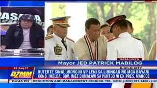 Iloilo city mayor welcomes Espenido deployment