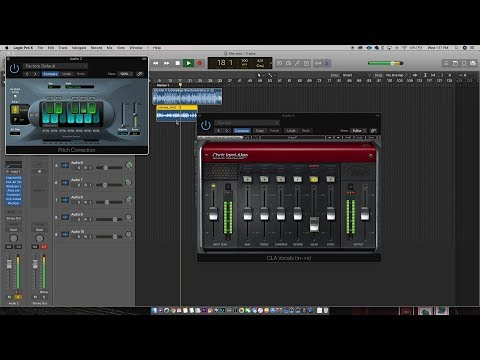 How to Mix Vocals in Logic Pro X | Mixing Rap Verses
