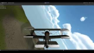 Unity3D FlightSim first test