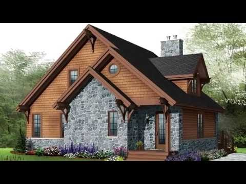 Plan de chalet no W2957 de Dessins Drummond - YouTube