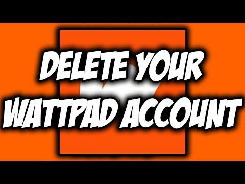 how-to-delete-wattpad-account-easy!-✅ -new-update-in-2020- 