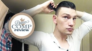 DCR Tutorial - Dance Competition Hairstyle For Men | The