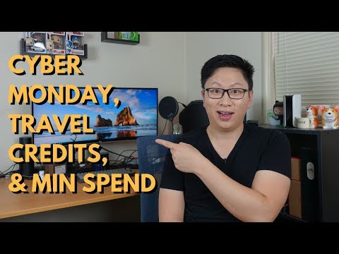 Roundup: Cyber Monday Deals, Travel Credits, Min Spend