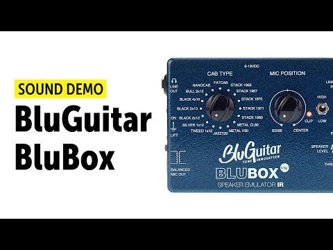 BluGuitar BluBox Sound Demo (no talking)