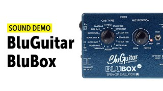 BluGuitar BluBox Sound Demo (no talking)