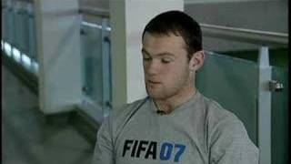 FIFA 07 interview with rooney
