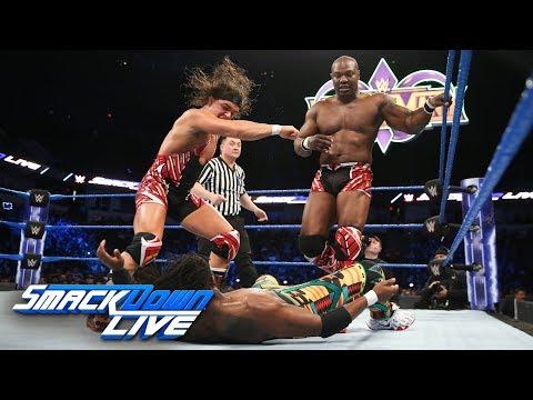 The New Day vs. Chad Gable & Shelton Benjamin: SmackDown LIVE, Feb. 13, 2018