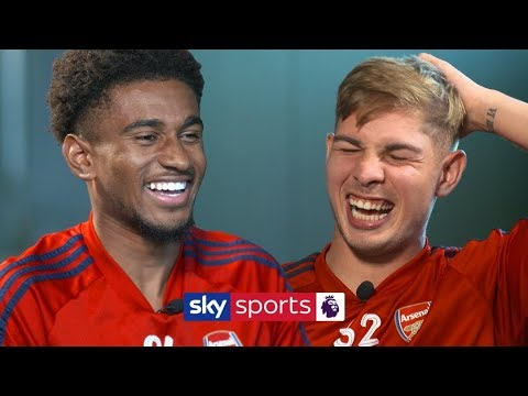 How many Arsenal teammates can Reiss Nelson name in 30 seconds? | Lies | Nelson