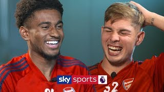 How many Arsenal teammates can Reiss Nelson name in 30 seconds? | Lies | Nelson vs Smith Rowe