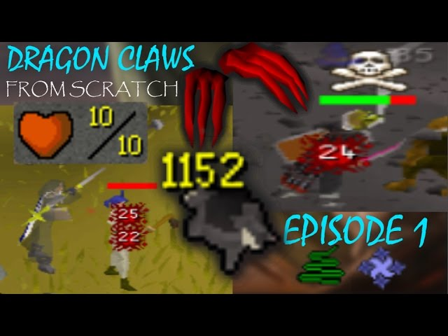 10HP Ironman Black Chinchompa PKer | Dragon Claws From Scratch Episode 1