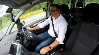 Review and Virtual  Video Test Drive In Our Vauxhall Zafira 1 9 CDTi 16v SRi 5dr