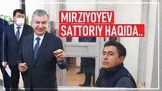 OzodRakurs: Prezident Mirziyoyev bloger Sattoriy haqida...
