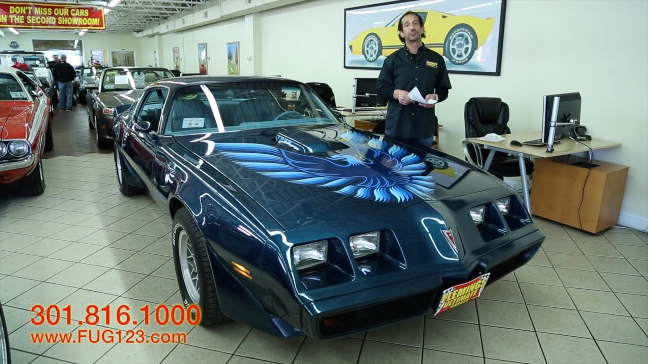 1979 Pontiac Trans Am WS6 Package For Sale With Test Drive Walk Through Video