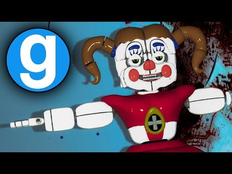 KILLING BABY! | Gmod FNAF SISTER LOCATION Sandbox Funny Moments! [Garry's Mod]