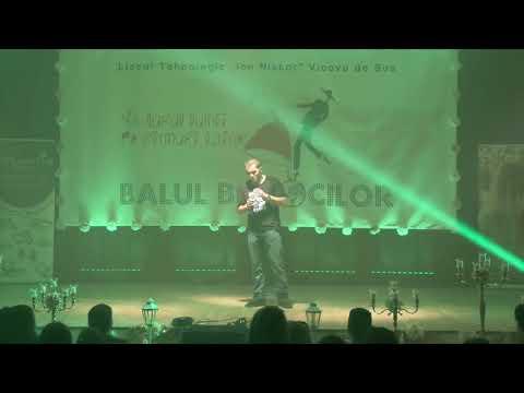 Daniel Bîru Stand Up comedy Balul Bobocilor LTIN 2017 by Mira Studio
