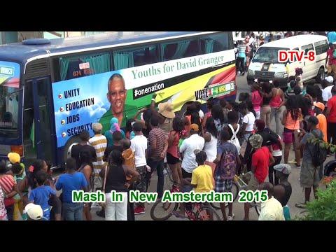 Mash 2015 in New Amsterdam, Guyana