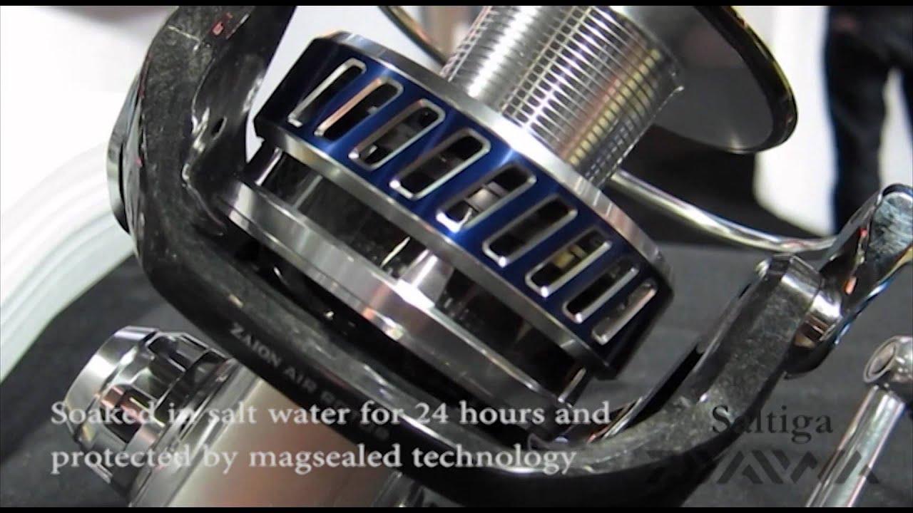 Fred Hall Show 2012 Daiwa Magsealed Technology Saltiga Reel Soaked