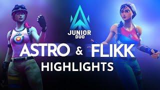 Atlantis Juniors - Astro & Flikk (Stream Highlights)