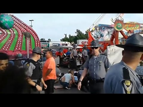 Accidente en la feria estatal de Ohio
