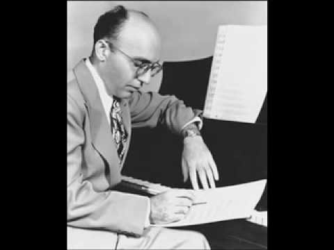 "Kurt Weill Sings and plays ""Speak low"""
