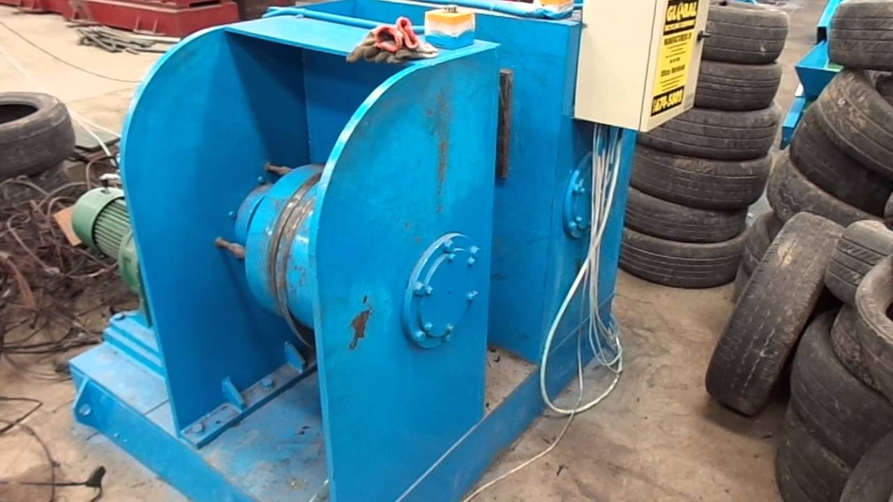 scrap tire debeader  tire wire puller  tire recycling youtube