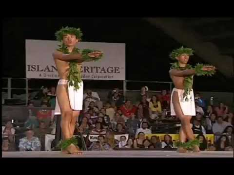 Merrie Monarch 2008, 4th Place Kāne Kahiko
