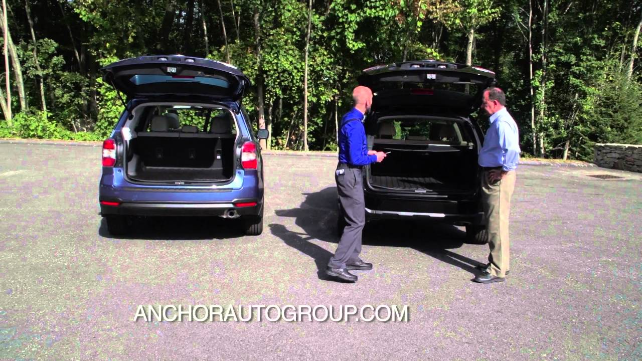 2016 Subaru Outback Vs Forester At Anchor Auto Group