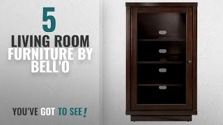 Top 10 Bell'O Living Room Furniture [2018]: Bell'O ATC402 Audio Video Component Cabinet, Dark