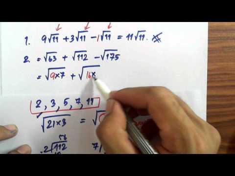 เฉลยโจทย์คณิตเพิ่มเติมม.3(การบวกลบกรณฑ์1)