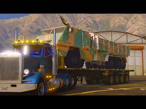 RP GTA V ! Livraison d'un Lance Missile ! Convoi Exceptionnel ! Partie 2