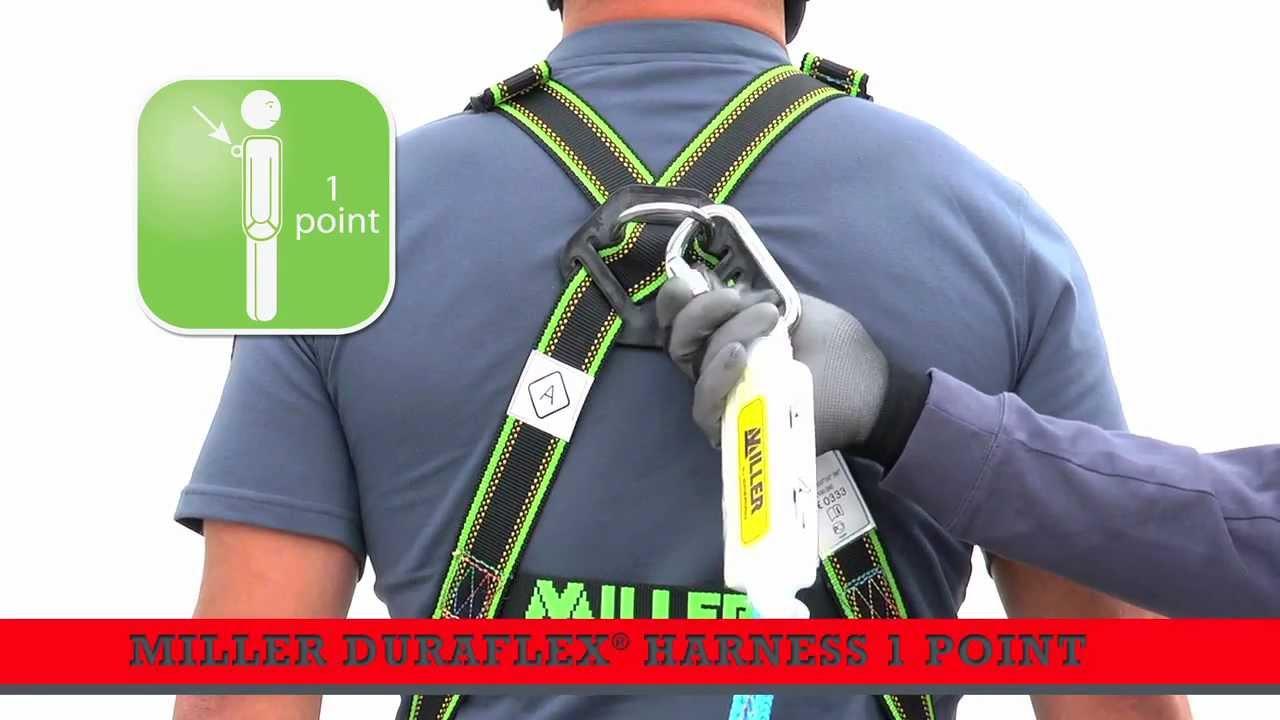 How To Put On A Miller Duraflex Fall Arrest Harness 1