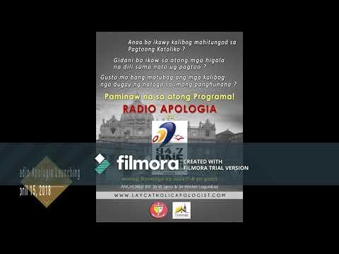 (LCA) Lay Catholic Apologist International - RADIO APOLOGIA 94.7 - ONE FM