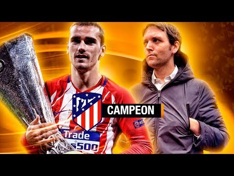 ATLÉTICO MADRID vs MARSEILLE UEL FINAL LYON   Vlog 72