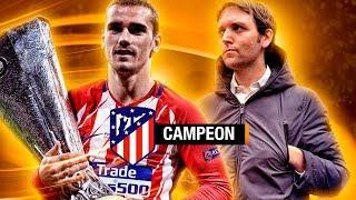 ATLÉTICO MADRID vs MARSEILLE UEL FINAL LYON | Vlog 72