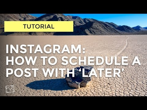 Tutorial - How To Schedule A Post To Instagram With Later