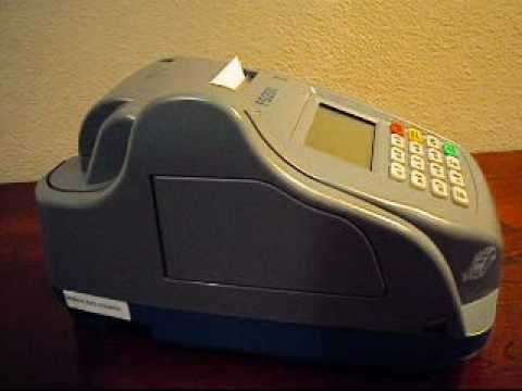Changing the Ink in the First Data™ FD200 Credit Card Terminal