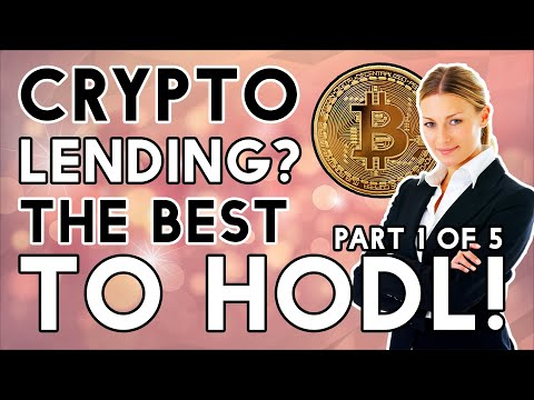 Crypto Lending The Superior Way Of HODLing Part 1 OF 5
