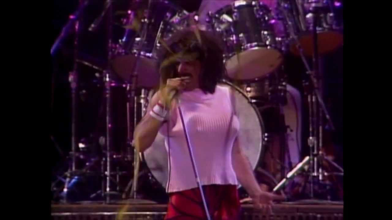 i want to break free live