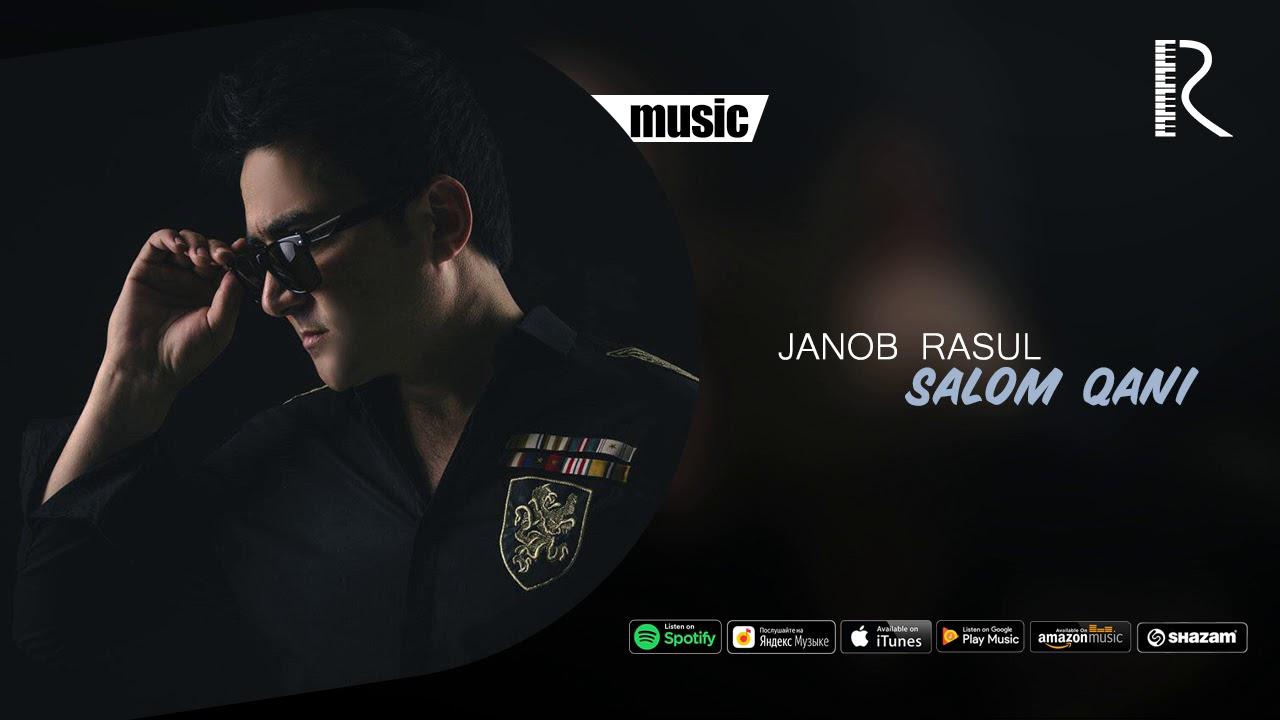 Janob Rasul - Salom qani | Жаноб Расул - Салом кани (music version)
