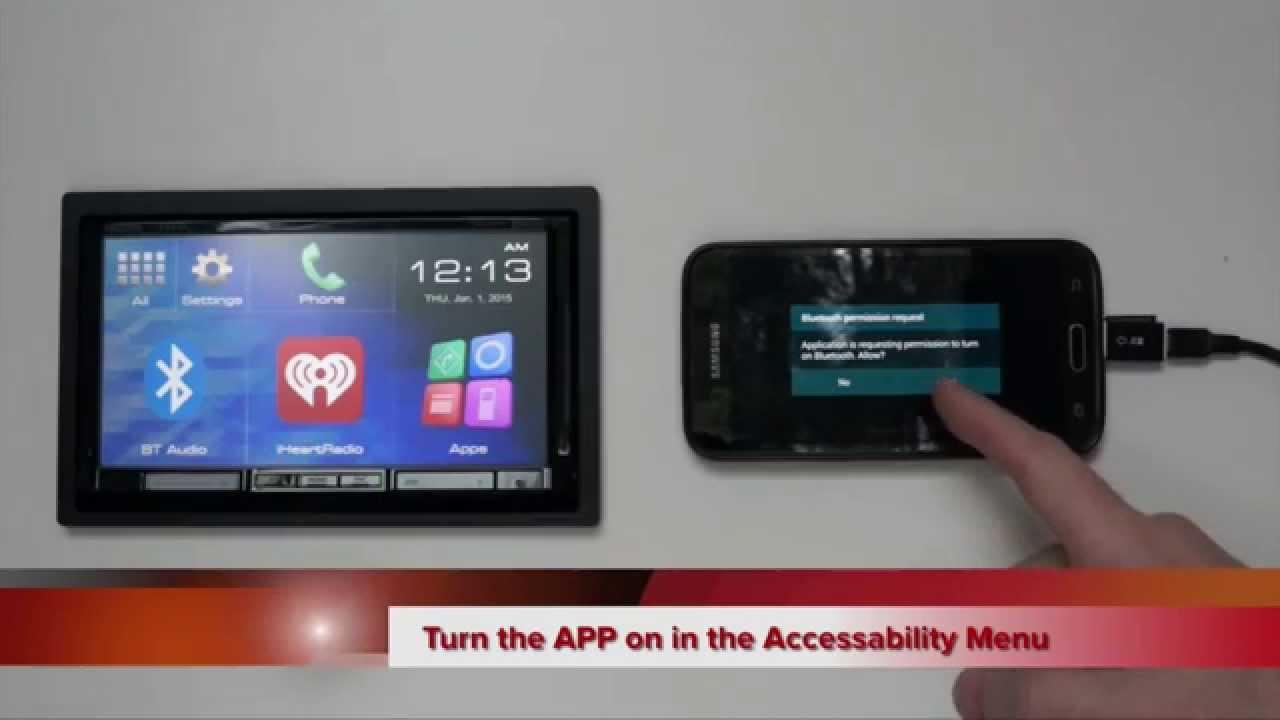 2015 Jvc Smartphone Control Via Hdmi Android Setup Youtube