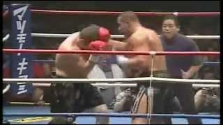Jerome Le Banner vs. Nicholas Pettas (crazy ko) Brutal fight