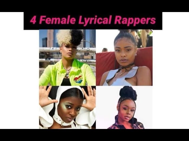 4 Lyrical Female Rappers You Should Know