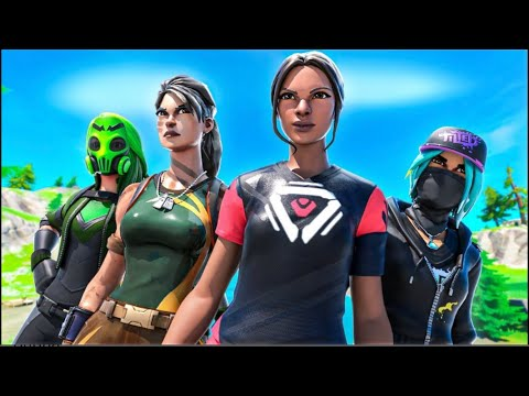 Winning in Squads-Fortnite Gameplay