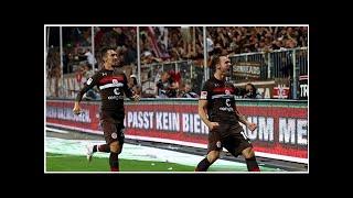 2. Bundesliga, Spielbericht: FC St. Pauli - SV Darmstadt 98 2:0